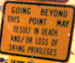 death_and_skiing_sign
